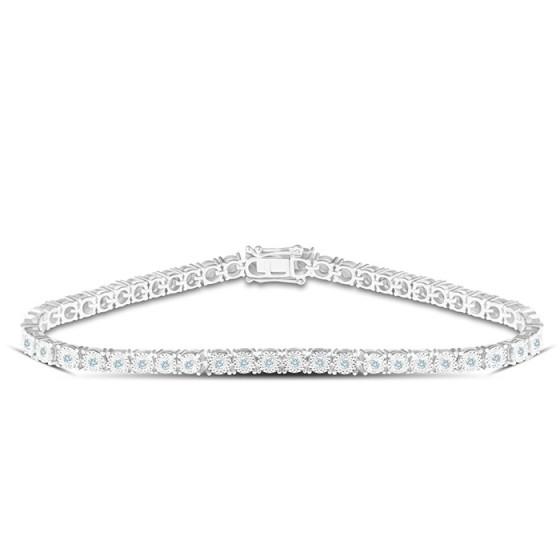 Diamond Bracelet B16056-14