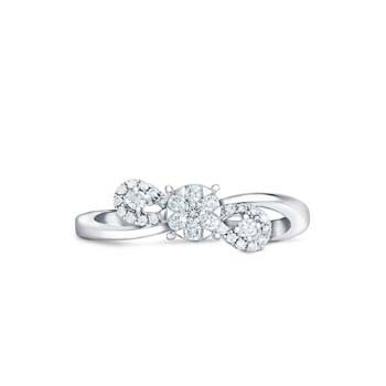 Diamond Ladies Ring CWF0812