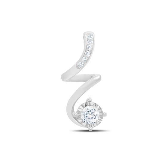 Diamond Pendant P16032-40