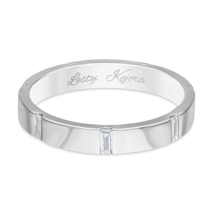 ASHOKA Diamond Wedding Ring CKF0092B (Lesty Kejora Edition)