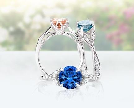Cincin Batu Mulia Vs Cincin Berlian Untuk Cincin Tunangan