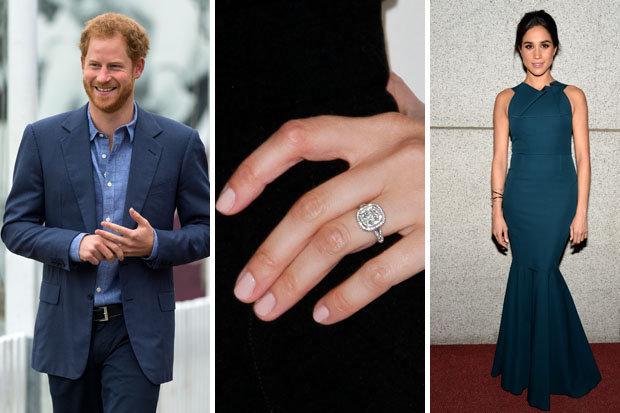 Cincin Tunangan Unik Milik Pangeran Harry Dilarang Untuk ...