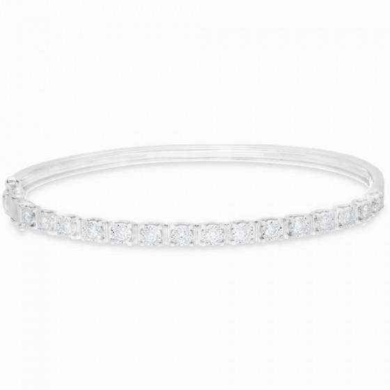 Diamond Bangle B16057-14