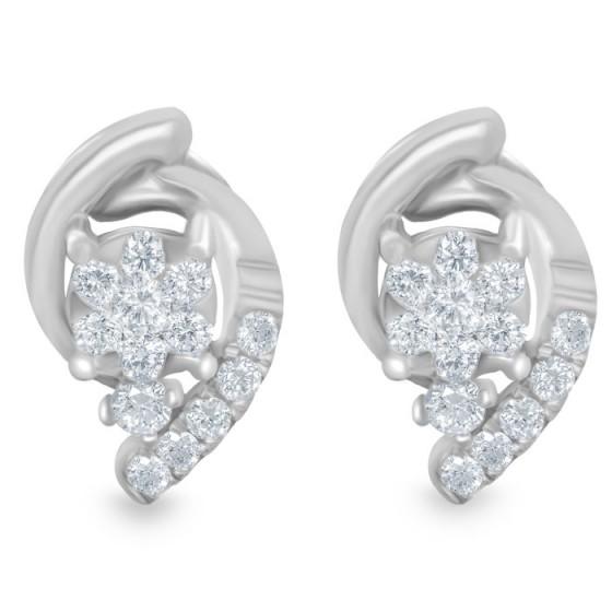 LOTUS FANCY Diamond Earrings AF0369