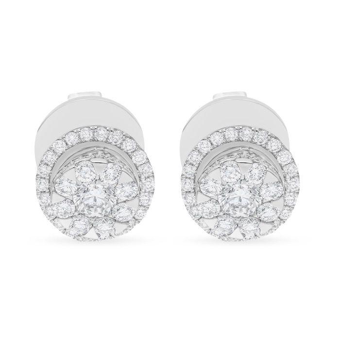 Diamond Earrings AF0478