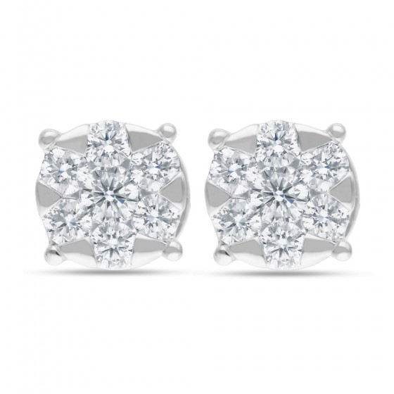 Diamond Earrings AF0579