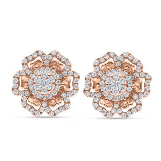 Flourish Diamond Earrings AF0616