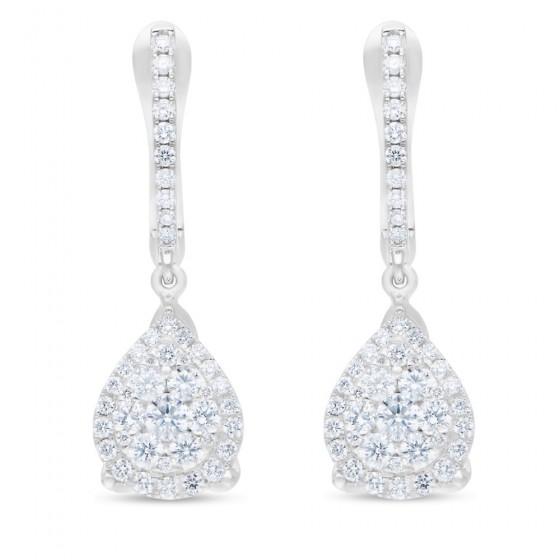 Diamond Earrings AF0631