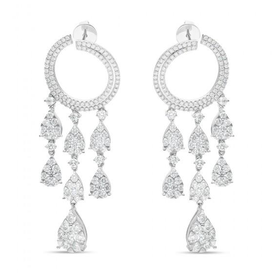 Diamond Earrings AF0786