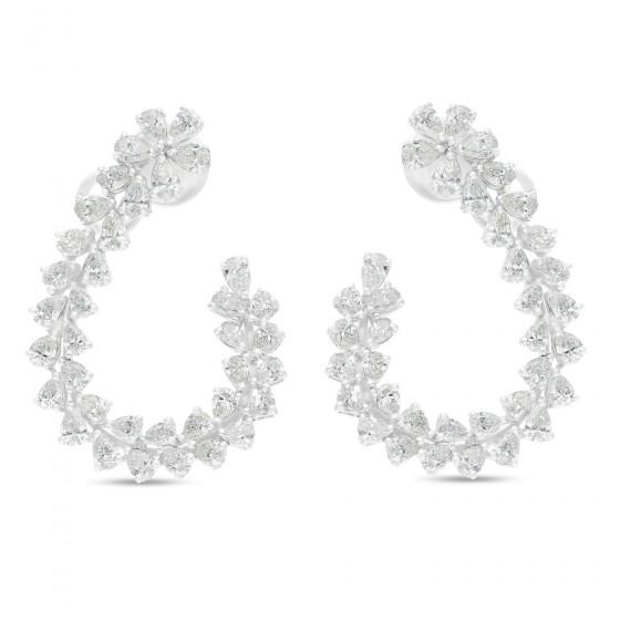Diamond Earrings DEJ00649