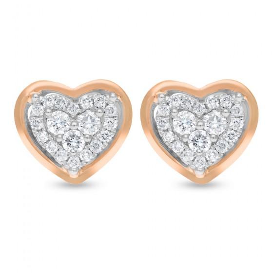 Diamond Earrings E17129