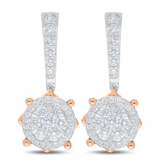 Diamond Earrings E17152