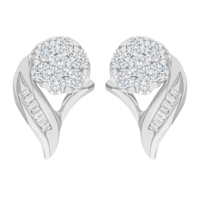 Diamond Earrings SB-CS0016C