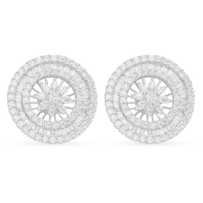 Diamond Jewelry Earrings AAKS010