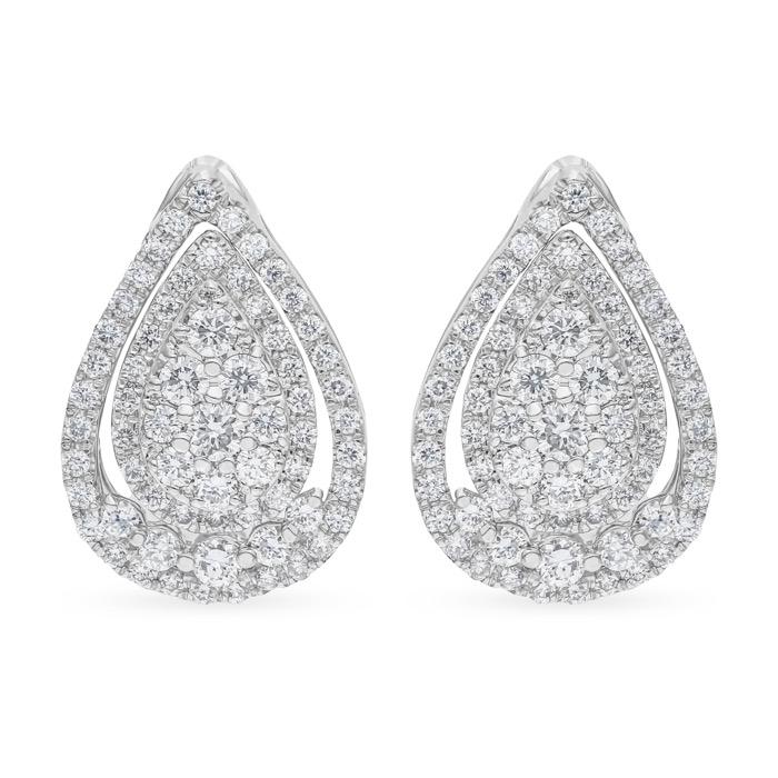 Diamond Jewelry Earrings AF0518