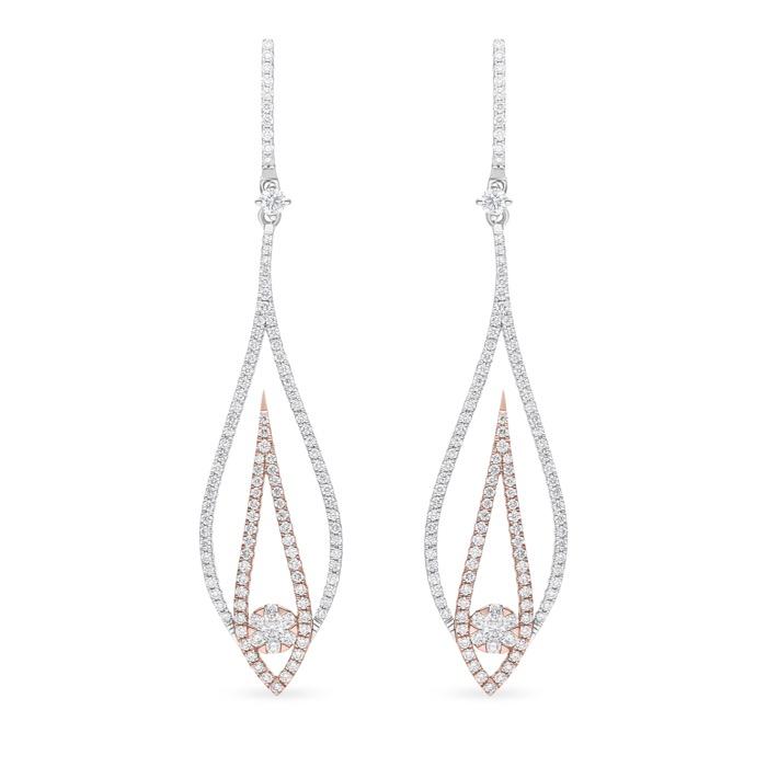 Diamond Jewelry Earrings AF0912