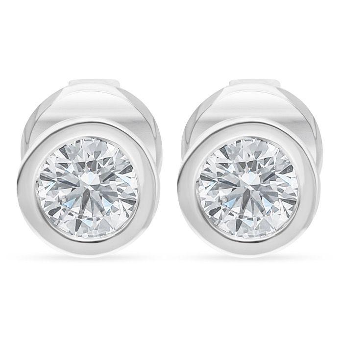 Diamond Jewelry Earrings P-DES0190