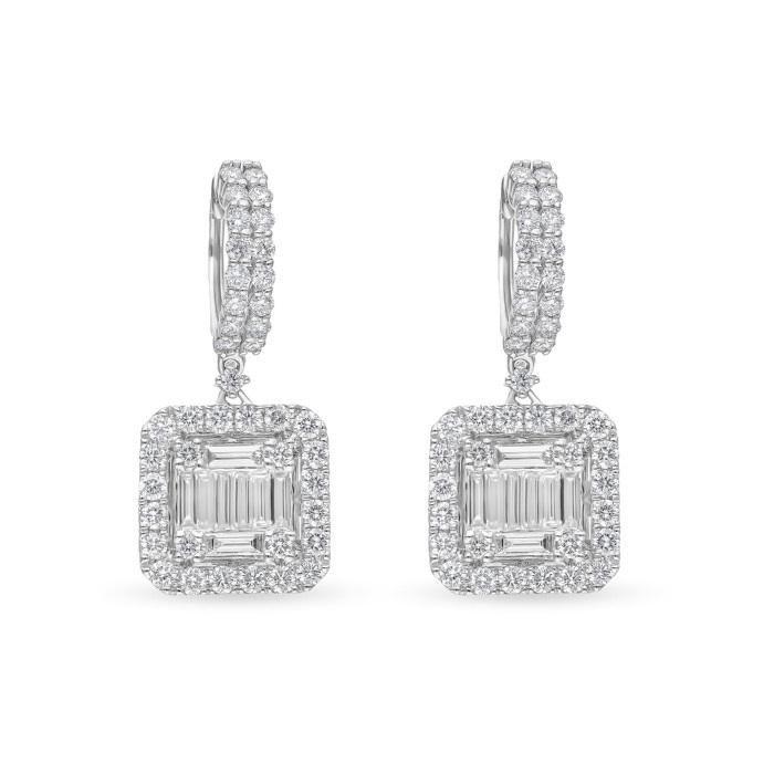 Diamond Jewelry Earrings SANYUAT23