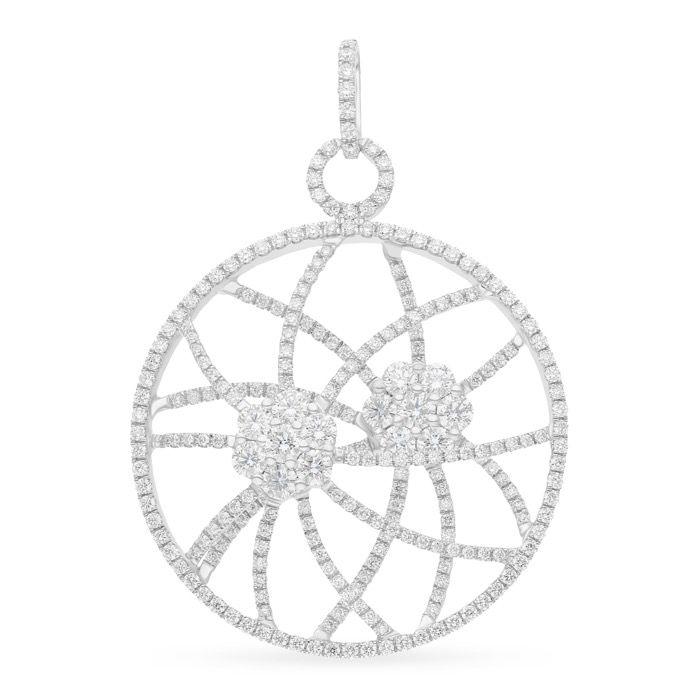 Diamond Jewelry Pendant  LWF0487
