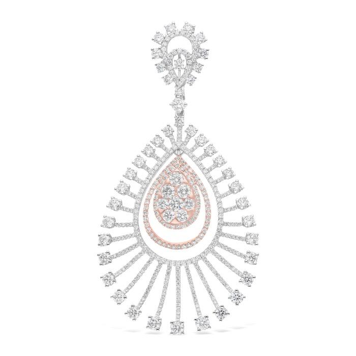 Diamond Jewelry Pendant LWF0746