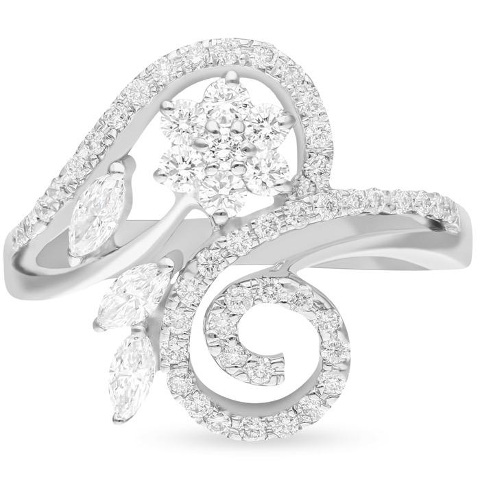 Diamond Ladies Ring BGJCW9