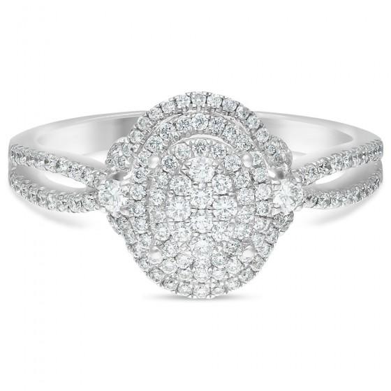 Diamond Ladies Ring CWF0708