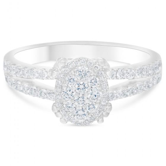 Diamond Ladies Ring CWF0711