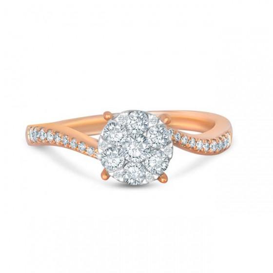 LOTUS FANCY Diamond Ladies Ring CWF0914