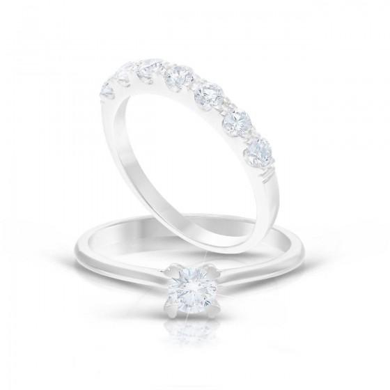 Diamond Ladies Ring CWS0153+CWSS0107