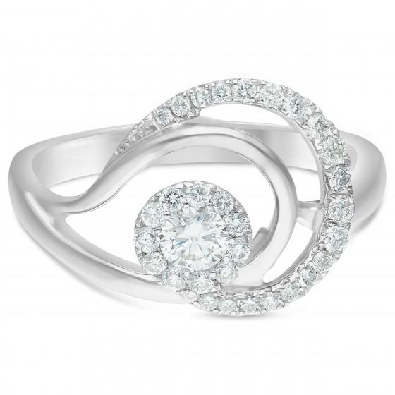 Diamond Ladies Ring HT-CPR006