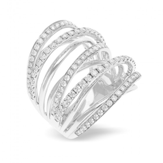 Diamond Ladies Ring MIX17313CW001