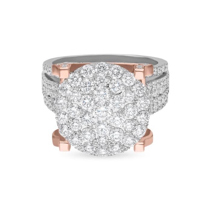 Diamond Ladies Ring SB-CR0814B