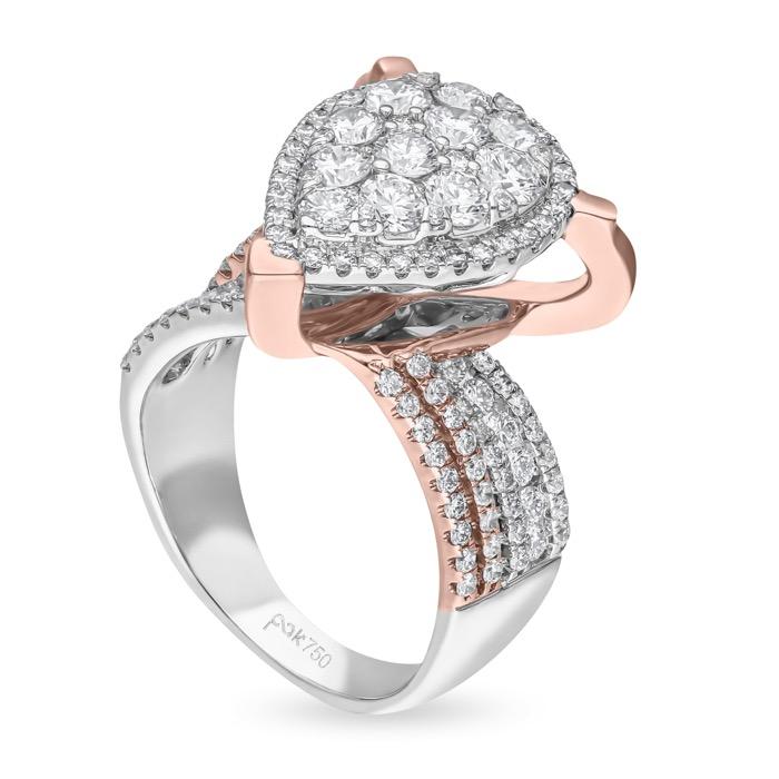 Diamond Ladies Ring UW00338