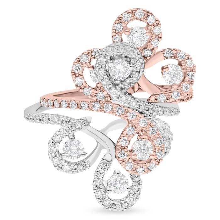 Diamond Ladies Ring YFJCW3