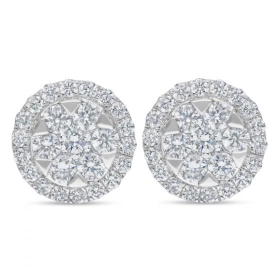 Diamond Earrings AF0580