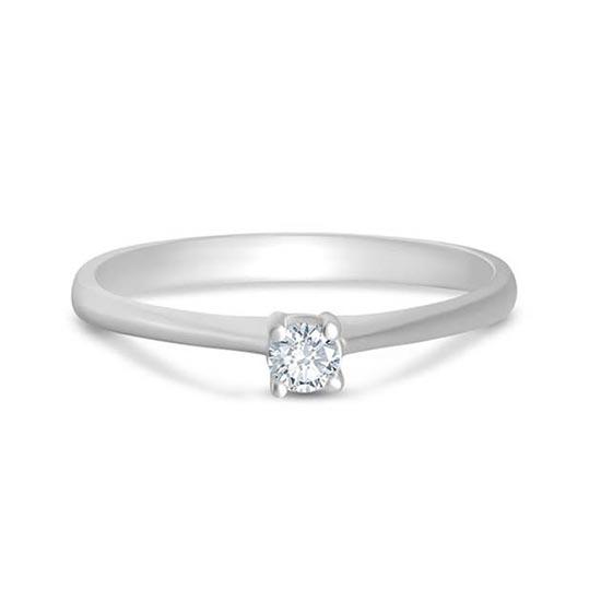 SOLITAIRE Diamond Ladies Ring CWS0031