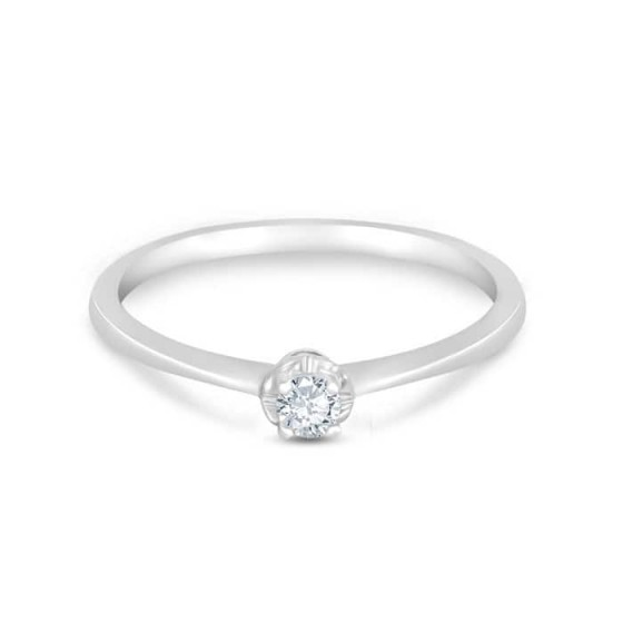 SOLITAIRE Diamond Ladies Ring CWS0075
