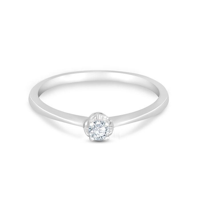 SOLITAIRE Diamond Ladies Ring CWS0075