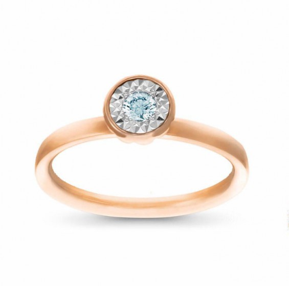 Solitaire Mirage Ring
