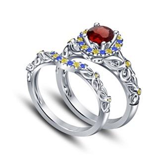 Tidak Hanya Model, Cincin Kawin Unik juga Bisa Dilihat dari Bahan!