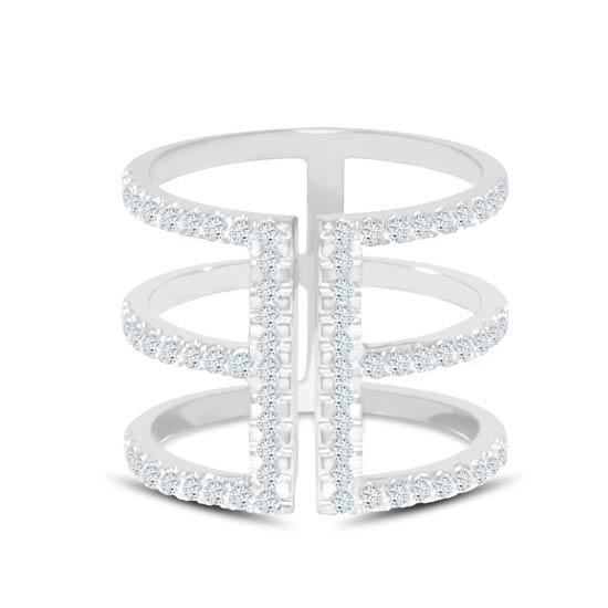 TRISHA Diamond Ladies Ring CWF0947